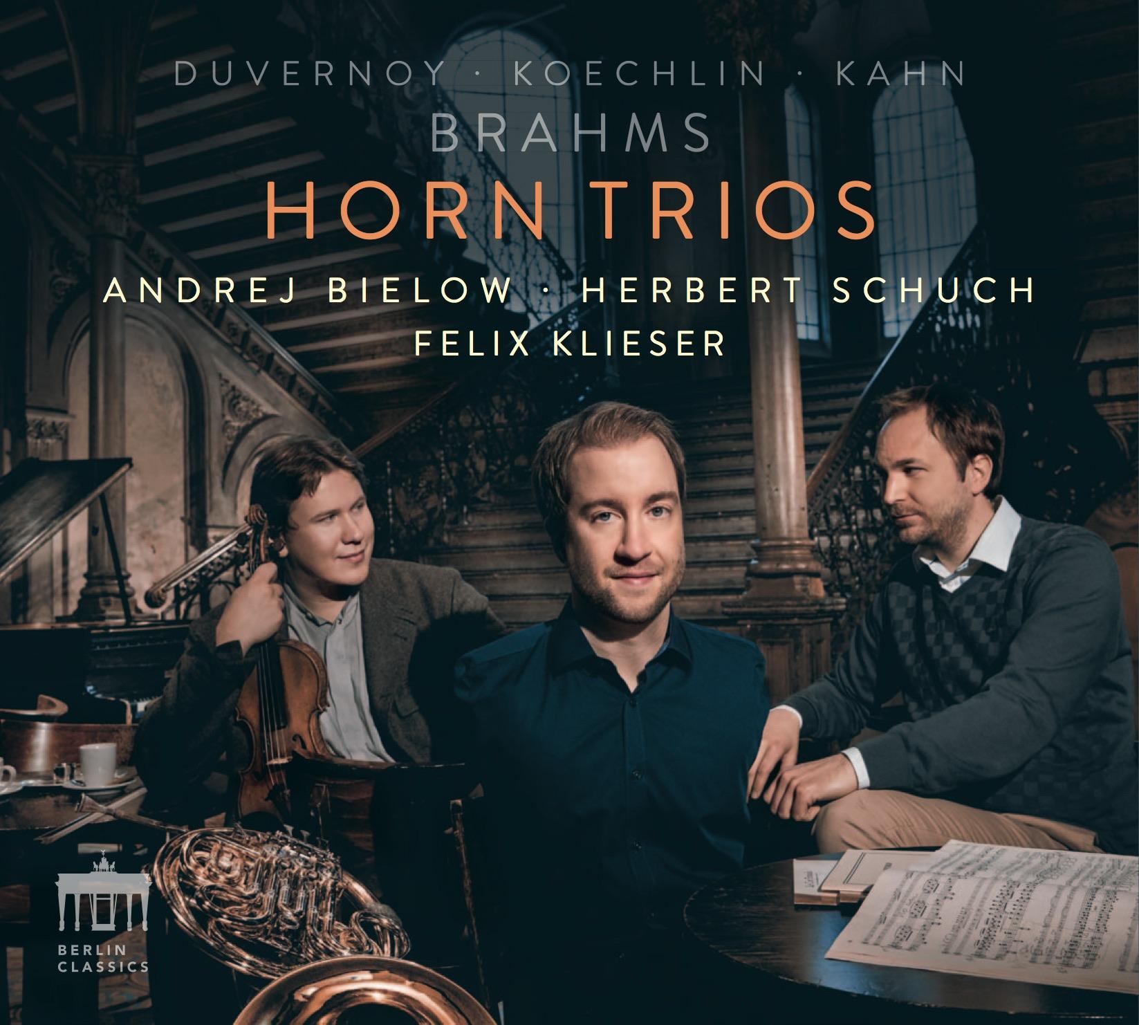 Felix Klieser Cover Horn Trios